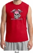 Breast Cancer Awareness Bikers Against Breast Cancer Mens Muscle Shirt