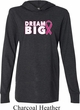 Breast Cancer Awareness Dream Big Lightweight Hoodie Tee