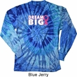 Breast Cancer Awareness Dream Big Long Sleeve Tie Dye Shirt