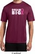 Breast Cancer Awareness Dream Big Mens Moisture Wicking Shirt