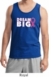 Breast Cancer Awareness Dream Big Mens Tank Top