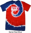 Breast Cancer Awareness Dream Big Patriotic Tie Dye Shirt