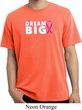 Breast Cancer Awareness Dream Big Pigment Dyed Shirt