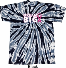 Breast Cancer Awareness Dream Big Twist Tie Dye Shirt