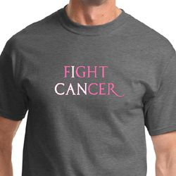 Breast Cancer Awareness Fight Cancer Mens Shirts