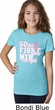 Breast Cancer Awareness Go Fight Win Girls Shirt