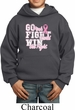 Breast Cancer Awareness Go Fight Win Kids Hoody