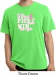 Breast Cancer Awareness Go Fight Win Pigment Dyed Shirt