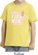 Breast Cancer Awareness Go Fight Win Toddler Shirt