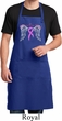 Breast Cancer Awareness Heaven Can Wait Full Length Apron with Pockets