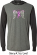 Breast Cancer Awareness Heaven Can Wait Lightweight Hoodie Tee