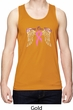Breast Cancer Awareness Heaven Can Wait Mens Moisture Wicking Tanktop