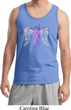 Breast Cancer Awareness Heaven Can Wait Mens Tank Top