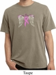 Breast Cancer Awareness Heaven Can Wait Pigment Dyed Shirt