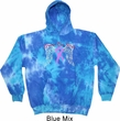 Breast Cancer Awareness Heaven Can Wait Tie Dye Hoodie