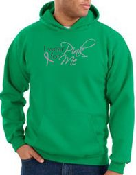 Breast Cancer Awareness Hoodie - I Wear Pink For Me Kelly Green Hoody