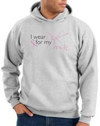 Breast Cancer Awareness Hoodie I Wear Pink For My Cousin Hoody