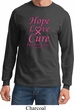 Breast Cancer Awareness Hope Love Cure Long Sleeve