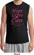 Breast Cancer Awareness Hope Love Cure Muscle Shirt