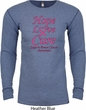 Breast Cancer Awareness Hope Love Cure Thermal