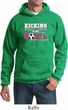 Breast Cancer Awareness Kicking Breast Cancer is Our Goal Hoodie