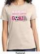 Breast Cancer Awareness Kicking Breast Cancer is Our Goal Ladies Shirt