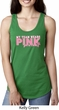 Breast Cancer Awareness My Team Wears Pink Ladies Ideal Tank Top