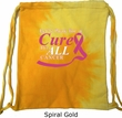 Breast Cancer Awareness Pary for a Cure Tie Dye Bag