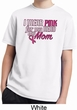 Breast Cancer Awareness Pink for My Hero Kids Moisture Wicking Shirt