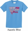 Breast Cancer Awareness Pink for My Hero Kids Shirt