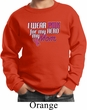 Breast Cancer Awareness Pink for My Hero Kids Sweat Shirt