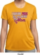 Breast Cancer Awareness Pink for My Hero Ladies Moisture Wicking Shirt