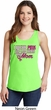 Breast Cancer Awareness Pink for My Hero Ladies Tank Top