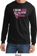 Breast Cancer Awareness Pink for My Hero Long Sleeve Shirt