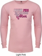 Breast Cancer Awareness Pink for My Hero Long Sleeve Thermal Shirt