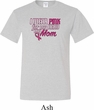 Breast Cancer Awareness Pink for My Hero Mens Tall Shirt