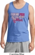 Breast Cancer Awareness Pink for My Hero Mens Tank Top