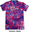 Breast Cancer Awareness Pink for My Hero Patriotic Tie Dye Shirt