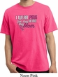 Breast Cancer Awareness Pink for My Hero Pigment Dyed Shirt