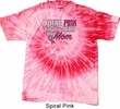 Breast Cancer Awareness Pink for My Hero Tie Dye Shirt