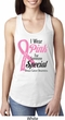 Breast Cancer Awareness Pink For Someone Special Ladies Ideal Tank Top