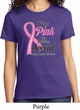 Breast Cancer Awareness Pink For Someone Special Ladies Shirt