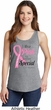 Breast Cancer Awareness Pink For Someone Special Ladies Tank Top