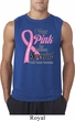 Breast Cancer Awareness Pink For Someone Special Mens Sleeveless Shirt