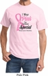 Breast Cancer Awareness Pink For Someone Special Shirt