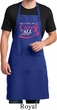Breast Cancer Awareness Pray for a Cure Full Length Apron with Pockets