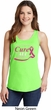 Breast Cancer Awareness Pray for a Cure Ladies Tank Top