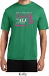 Breast Cancer Awareness Pray for a Cure Mens Moisture Wicking Shirt