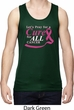 Breast Cancer Awareness Pray for a Cure Mens Moisture Wicking Tanktop