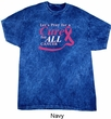 Breast Cancer Awareness Pray for a Cure Mineral Tie Dye Shirt